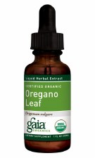 Gaia Herbs Organic Oregano Leaf Liquid Herbal Extract, 1 oz.