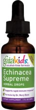 Gaia Herbs Kids Echinacea Supreme Herbal Drops, 1 oz.