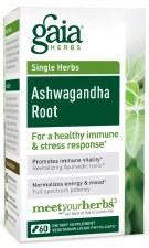 Gaia Herbs Ashwagangha Root, 60 vegetarain capsules