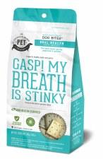 Grainville Island Pets Bad Breath Dog Bites, 8.47 oz.