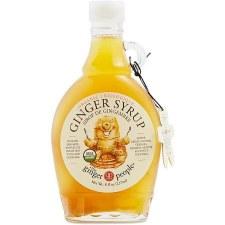 Ginger People Organic Ginger Syrup, 8 oz.