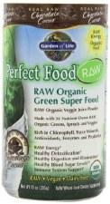 Garden of Life Chocolate Perfect Food Raw Organic Green Superfood, 285g