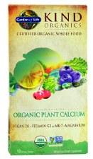 Garden of Life Kind Organics Organic Plant Calcium, 90 vegan tablets
