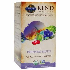 Garden of Life Kind Organics Prenatal Multivitamin, 180 vegan tablets