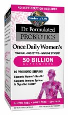 Garden of Life Dr. Formulated Once Daily Women's Probiotics, 30 vegetarian capsules