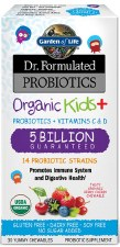 Garden of Life Dr. Formulated Probiotics Kids +, 30 yummy chewables