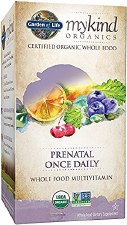 Garden of Life Mykind Prenatal Once Daily, 90 vegetarian tablets