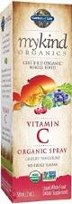 Garden of Life Mykind Organics Vitamin C Cherry-Tangerine Spray, 2 oz.