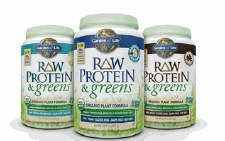 Garden of Life Vanilla Protein&Greens, 19.3 oz.