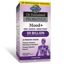 Garden of Life Dr. Formulated Probiotics Mood+, 60 vegetarian capsules