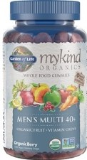 Garden of Life Men's Multi 40+, 120 gummies