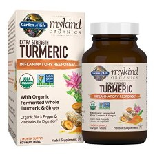 Garden of Life Mykind Extra Strength Turmeric, 60 tablets