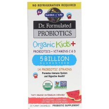 Garden of Life Dr. Formulated Probiotics Kids+ Watermelon, 30 chewables