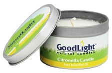 GoodLight Natural Candles Citronella Candle, 6 oz.