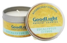GoodLight Natural Candles Fig Eucalyptus Citrus Candle, 2 oz.