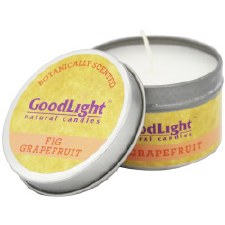 GoodLight Natural Candles Fig Grapefruit Candle, 2 oz.