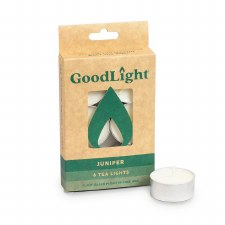 Goodlight Juniper Tea Lights, 6 count