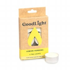 Goodlight Lemon Verbana Tea Lights, 6 count