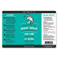 Bones & Co. Raw Goat Milk, 32 oz.