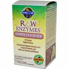Garden of Life Raw Enzymes Women 50 & Wiser
