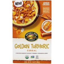 Nature's Path Organic Golden Turmeric Cereal, 10.6 oz.