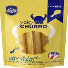 Himalayan Pet Supply Chicken Yaky Churro Dog Treat, 4 oz.