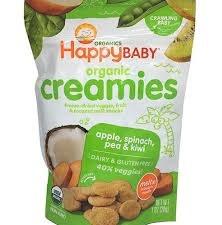 Happy Baby Organic Coconut Fruit Creamies, 1 oz.