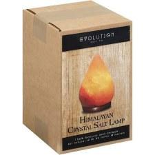 Evolution Salt Company Himilayan Raindrop Crystal Salt Lamp