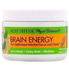 Fungi Perfecti Myco Botanicals Brain Energy, 3.5 oz.