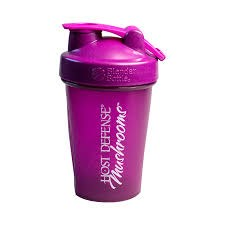 Fungi Perfecti Purple Blender Bottle, 20 oz.
