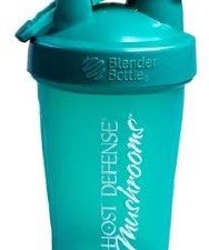 Fungi Perfecti Teal Blender Bottle, 20 oz.