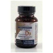 Harmonic Innerprizes Vitamin D3, 10,000 IU, 60 capsules
