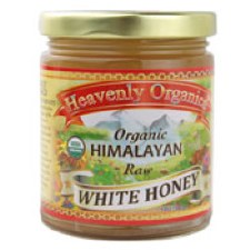 Heavenly Organics Organic Himalayan Raw White Honey, 12 oz.
