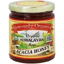 Heavenly Organics Organic Himalayan Raw Acacia Honey, 12 oz.