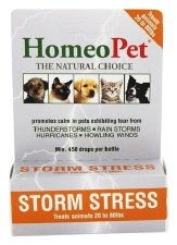 HomeoPet Storm Stress for Animals 20 to 80 lbs., 15 ml