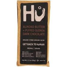 HU Chocolate Almond Butter Paleo Chocolate, 2.1 oz.