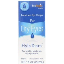Hyalogic HylaTears Drops, .67 oz.