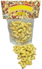 International Harvest Go Curry! Organic Dry Roasted Curry Cashews, 4 oz.