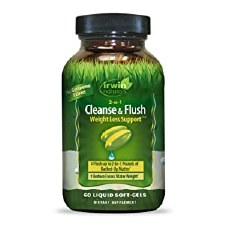 Irwin Naturals 2-in-1 Cleanse & Flush, 60 softgels