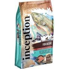Inception Fish Dry Dog Food, 4 lb.