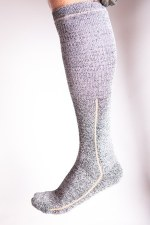 Incrediwear Knee High Merino Wool & Bamboo Charcoal  Socks, L