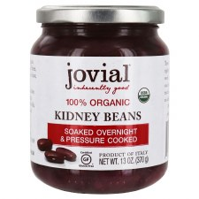 Jovial 100% Organic Kidney Beans, 13 oz.