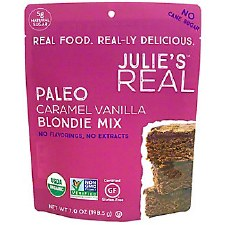 Julie's Real Paleo Caramel Vanilla Blondie Mix, 7 oz.