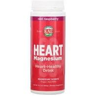 KAL Red Raspberry Heart Magnesium Heart-Healthy Drink Powder, 15.7 oz.