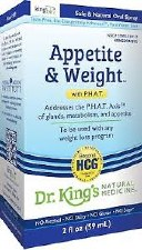 King Bio Appetite & Weight Control 2 oz