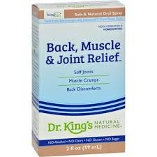 King Bio Back, Muscle & Joint Relief, 2 oz.