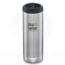 Klean Kanteen 3.0 Insulated Stainless Steel Bottle with Cafe Cap, 16 oz.