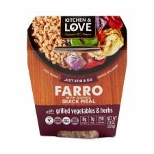 Cucina & Amore Garden Vegetable Farro Meal, 7.9 oz.