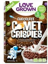 Love Grown Foods Comet Crispies Cereal, 9.5 oz.
