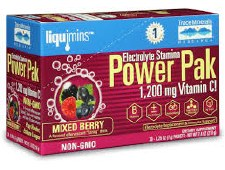 Trace Minerals Mixed Berry Power Pak, 30 count